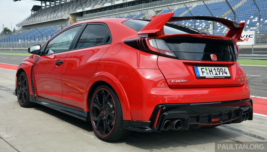 GALLERY: Honda Civic Type R – FWD King of the Ring meets past hatchback masters EP3, FN2 and FK2 Image #678872