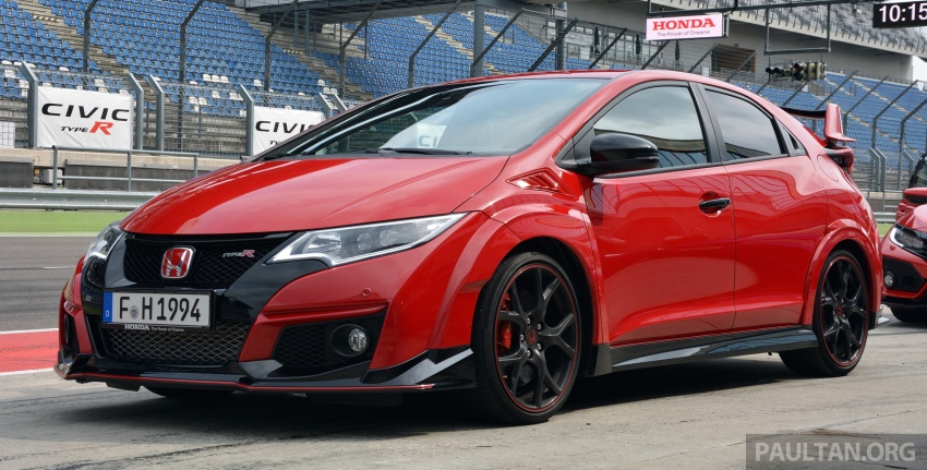GALLERY: Honda Civic Type R – FWD King of the Ring meets past hatchback masters EP3, FN2 and FK2 Image #678873