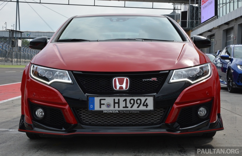 GALLERY: Honda Civic Type R – FWD King of the Ring meets past hatchback masters EP3, FN2 and FK2 Image #678867