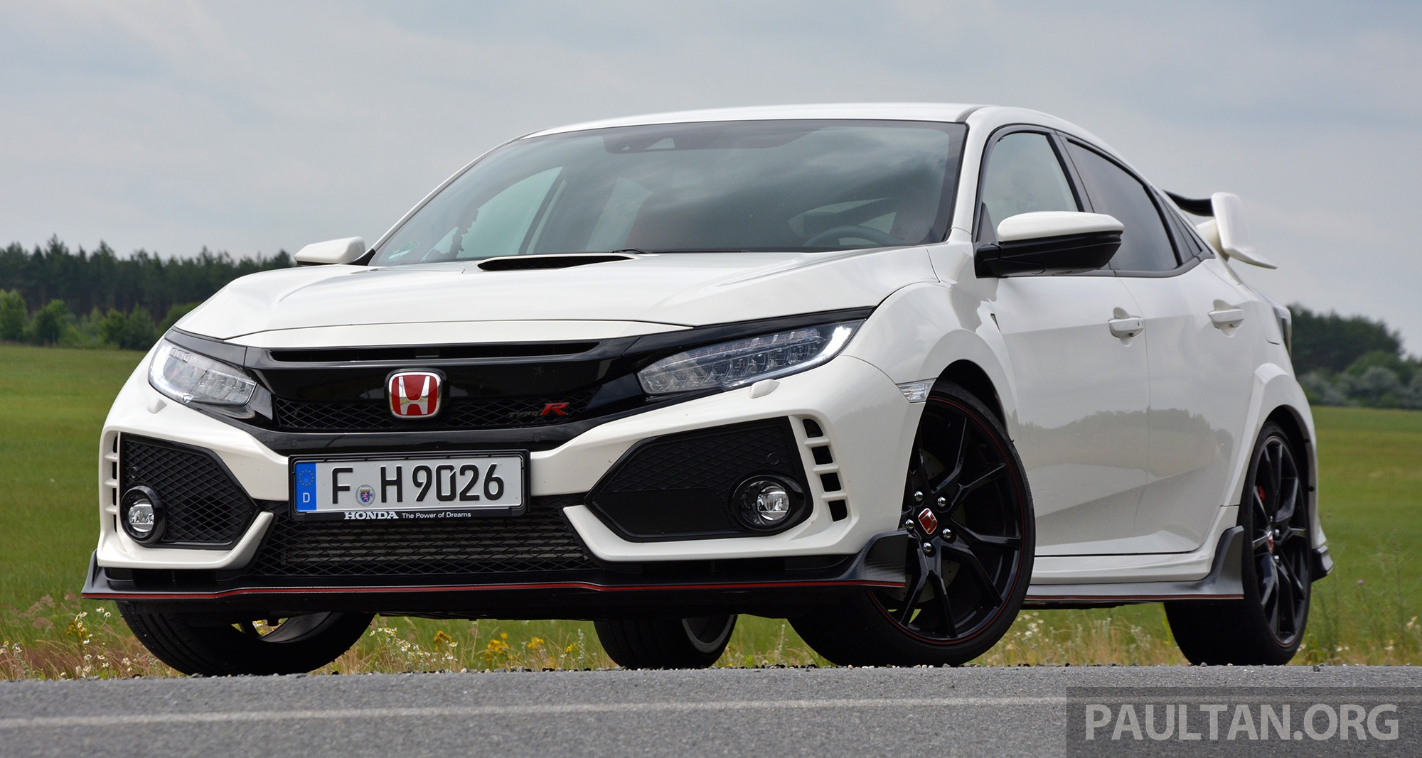 Driven 2017 Fk8 Honda Civic Type R Paradigm Shift Paul