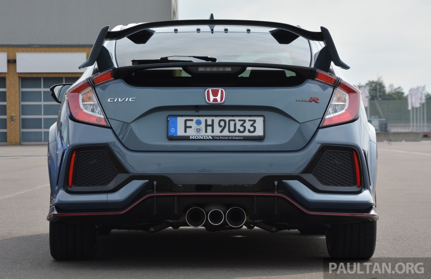 DRIVEN: 2017 FK8 Honda Civic Type R, paradigm shift Image #689052