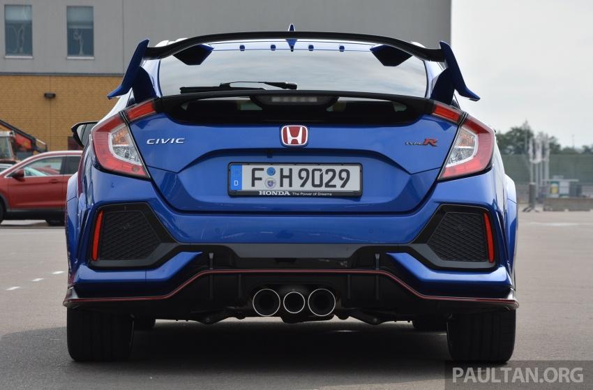 DRIVEN: 2017 FK8 Honda Civic Type R, paradigm shift Image #689053