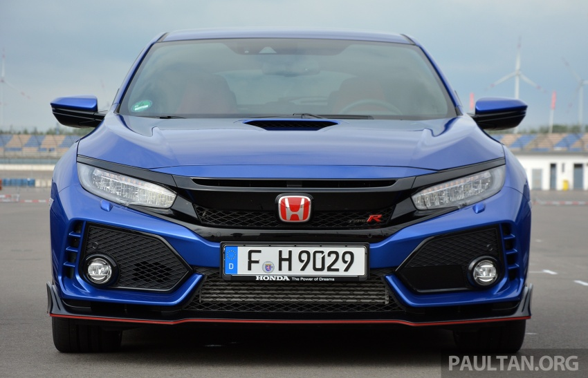 DRIVEN: 2017 FK8 Honda Civic Type R, paradigm shift Image #689054