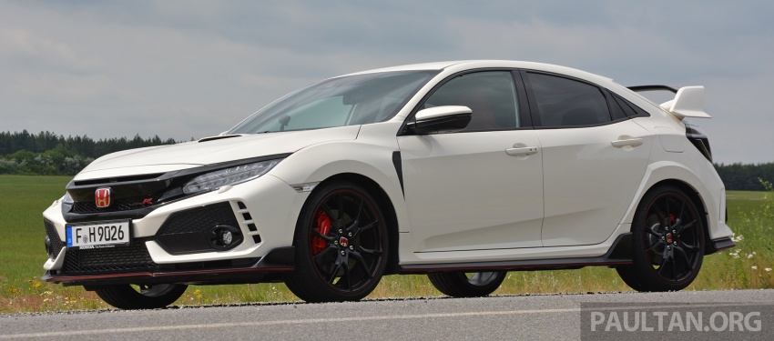 DRIVEN: 2017 FK8 Honda Civic Type R, paradigm shift Image #689037