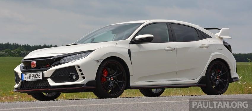DRIVEN: 2017 FK8 Honda Civic Type R, paradigm shift Image #689037