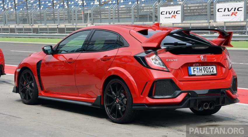 DRIVEN: 2017 FK8 Honda Civic Type R, paradigm shift Image #689062