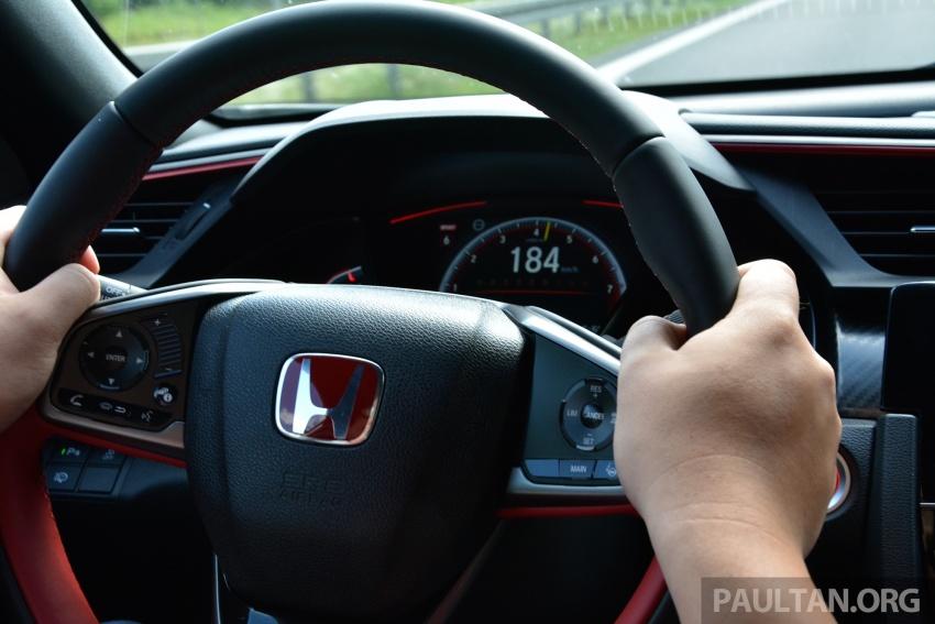 DRIVEN: 2017 FK8 Honda Civic Type R, paradigm shift Image #689099