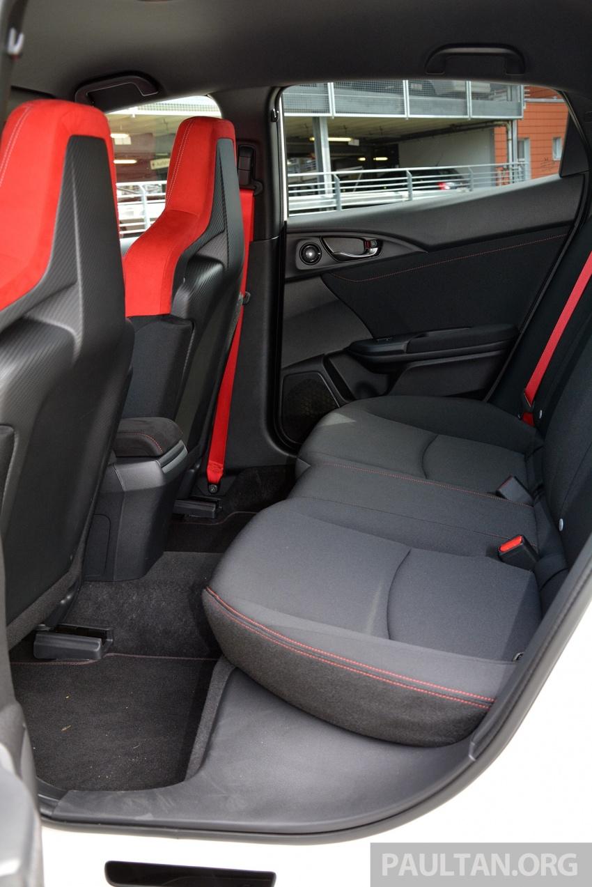 DRIVEN: 2017 FK8 Honda Civic Type R, paradigm shift Image #689105