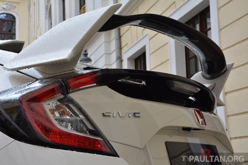 DRIVEN: 2017 FK8 Honda Civic Type R, paradigm shift Image #689115