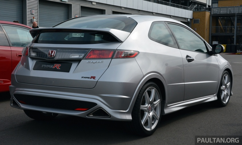 GALLERY: Honda Civic Type R – FWD King of the Ring meets past hatchback masters EP3, FN2 and FK2 Image #678830