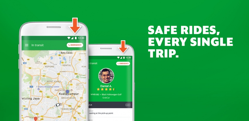 Grab introduces new initiatives to improve safety Image #690700