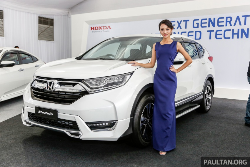 2017 Honda CR-V launched in Malaysia – three 1.5L Turbo, one 2.0L NA, priced from RM142k to RM168k Image #682398