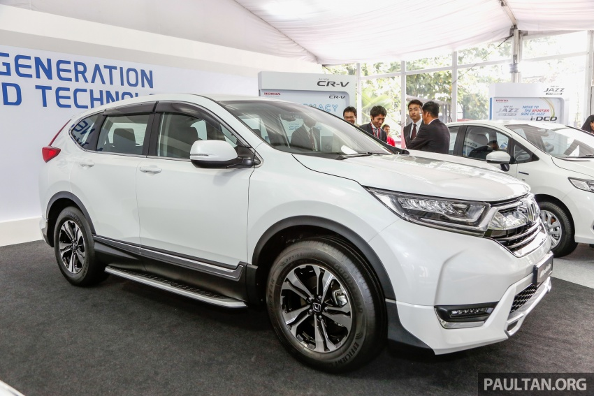 2017 Honda CR-V launched in Malaysia – three 1.5L Turbo, one 2.0L NA, priced from RM142k to RM168k Image #682292