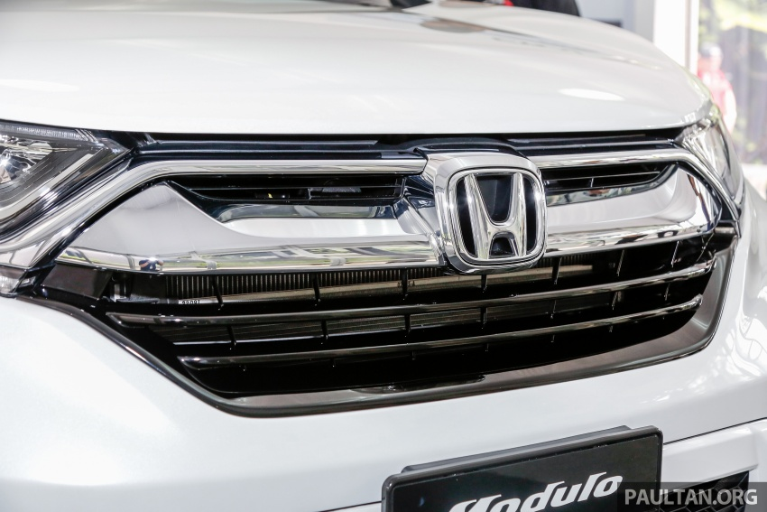Honda CR-V 2017 dilancar di M'sia – 3 varian 1.5L turbo dan 1 varian 2.0L N/A, harga RM142k-RM168k Image #682421