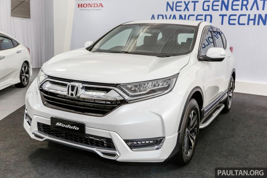 Honda CR-V 2017 dilancar di M'sia – 3 varian 1.5L turbo dan 1 varian 2.0L N/A, harga RM142k-RM168k Image #682409