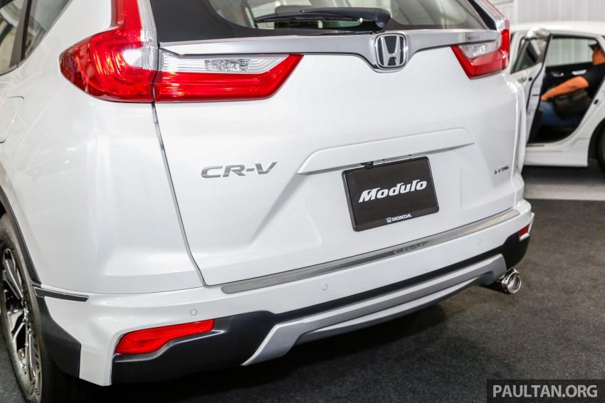 Honda CR-V 2017 dilancar di M'sia – 3 varian 1.5L turbo dan 1 varian 2.0L N/A, harga RM142k-RM168k Image #682429