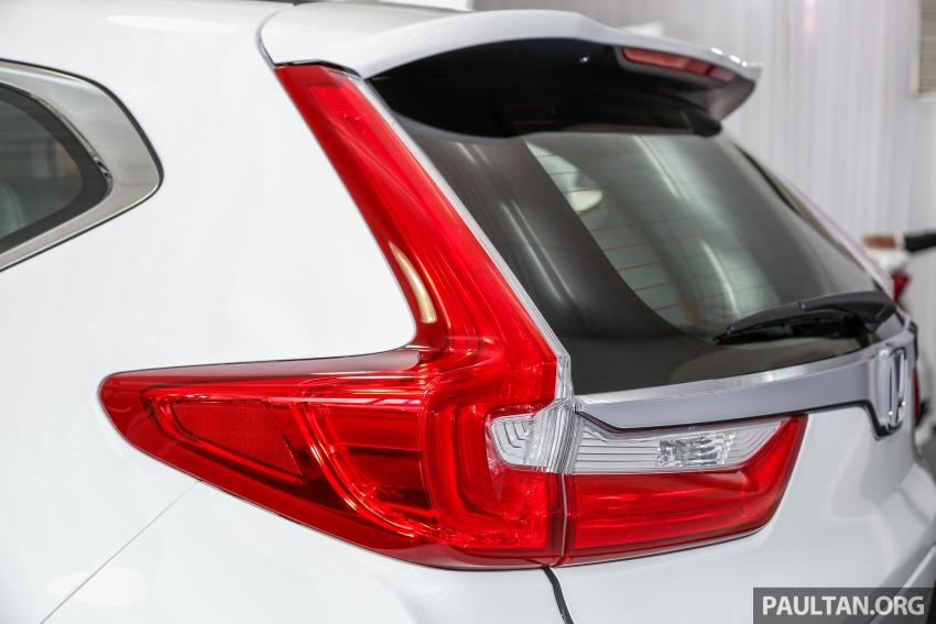 Honda CR-V 2017 dilancar di M'sia – 3 varian 1.5L turbo dan 1 varian 2.0L N/A, harga RM142k-RM168k Image #682431