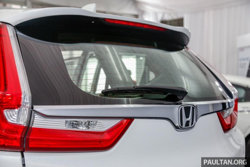 Honda CR-V 2017 dilancar di M'sia – 3 varian 1.5L turbo dan 1 varian 2.0L N/A, harga RM142k-RM168k Image #682433