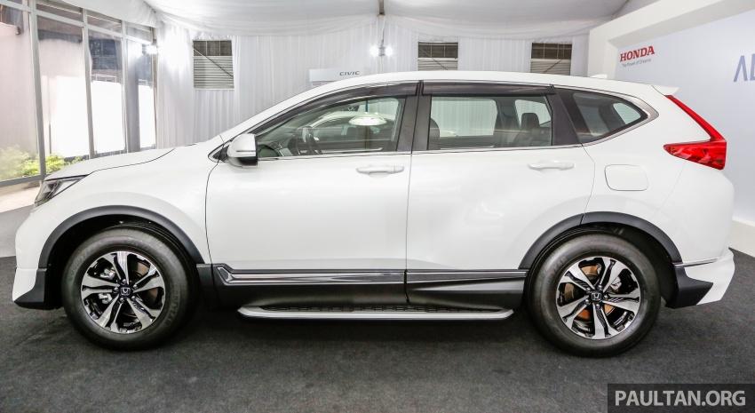 Honda CR-V 2017 dilancar di M'sia – 3 varian 1.5L turbo dan 1 varian 2.0L N/A, harga RM142k-RM168k Image #682413