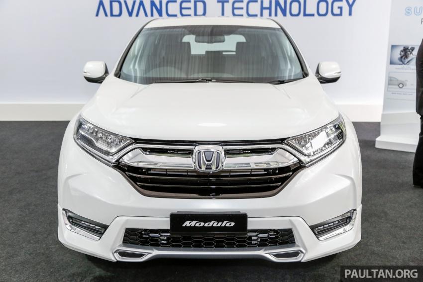 Honda CR-V 2017 dilancar di M'sia – 3 varian 1.5L turbo dan 1 varian 2.0L N/A, harga RM142k-RM168k Image #682415