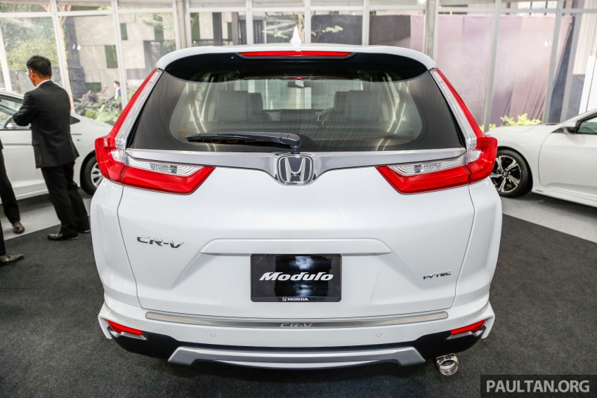 Honda CR-V 2017 dilancar di M'sia – 3 varian 1.5L turbo dan 1 varian 2.0L N/A, harga RM142k-RM168k Image #682416