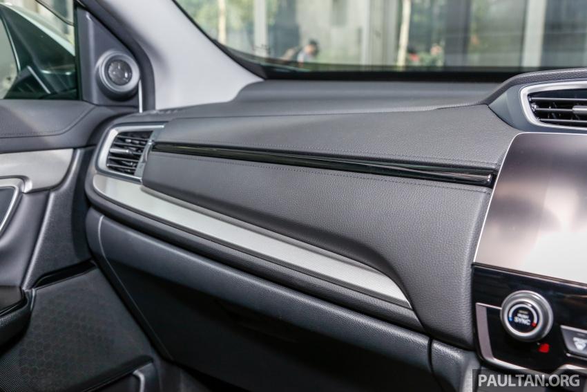 Honda CR-V 2017 dilancar di M'sia – 3 varian 1.5L turbo dan 1 varian 2.0L N/A, harga RM142k-RM168k Image #682452