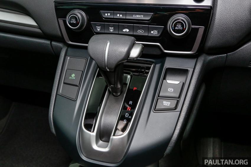 Honda CR-V 2017 dilancar di M'sia – 3 varian 1.5L turbo dan 1 varian 2.0L N/A, harga RM142k-RM168k Image #682455