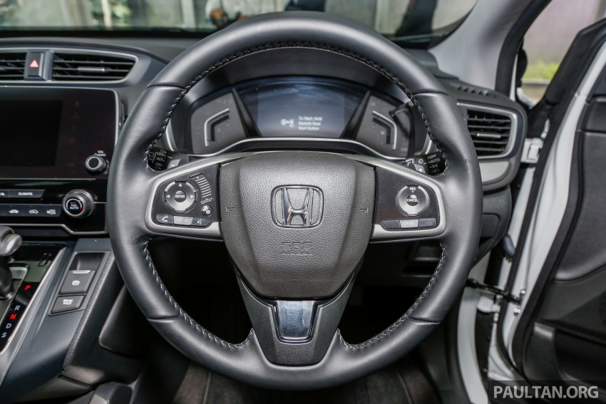 2017 Honda CR-V launched in Malaysia – three 1.5L Turbo, one 2.0L NA, priced from RM142k to RM168k Image #682333