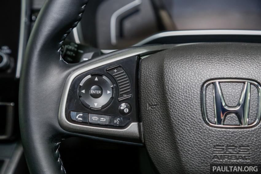 Honda CR-V 2017 dilancar di M'sia – 3 varian 1.5L turbo dan 1 varian 2.0L N/A, harga RM142k-RM168k Image #682447