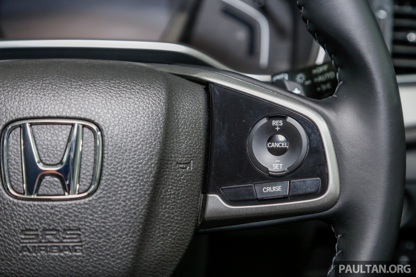 Honda CR-V 2017 dilancar di M'sia – 3 varian 1.5L turbo dan 1 varian 2.0L N/A, harga RM142k-RM168k Image #682448