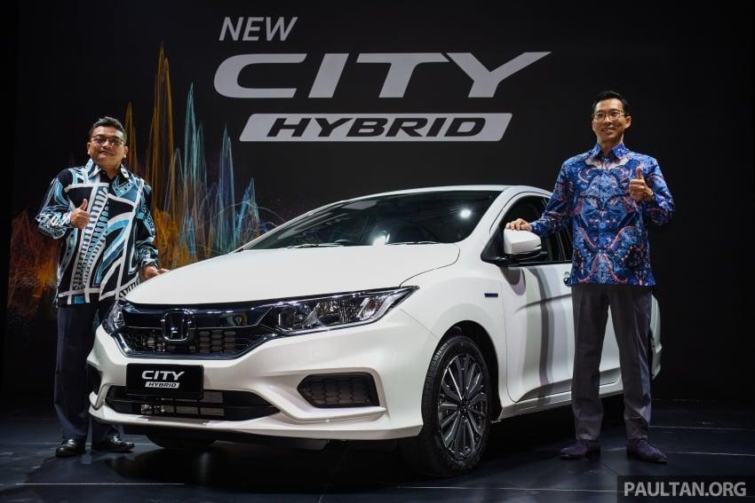 GALLERY: 2017 Honda City Hybrid in Malaysia, RM89k Image #687282