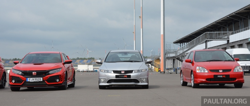 GALLERY: Honda Civic Type R – FWD King of the Ring meets past hatchback masters EP3, FN2 and FK2 Image #678899