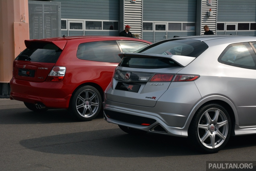 GALLERY: Honda Civic Type R – FWD King of the Ring meets past hatchback masters EP3, FN2 and FK2 Image #678902