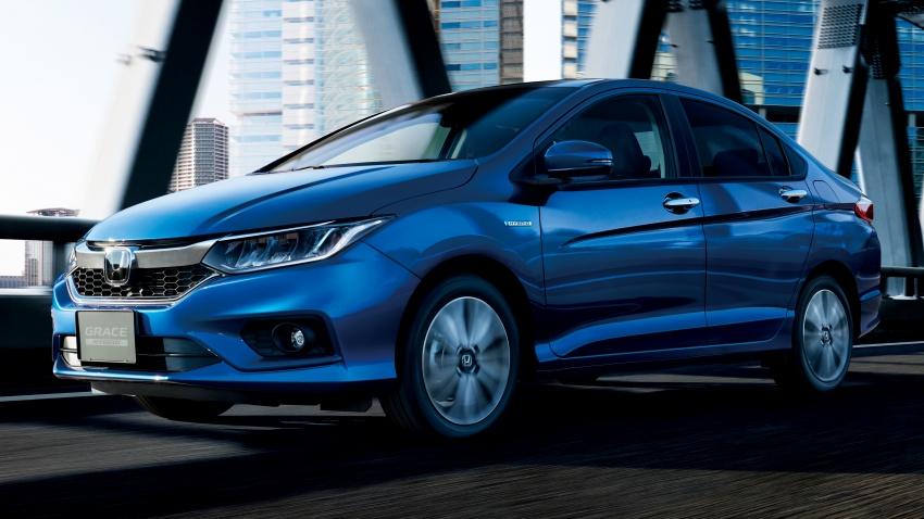 Honda Grace facelift – revised City launched in Japan, gains Honda Sensing safety suite, priced from RM67k Image #679951