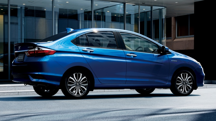 Honda Grace facelift – revised City launched in Japan, gains Honda Sensing safety suite, priced from RM67k Image #679952
