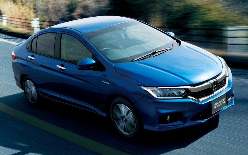 Honda Grace facelift – revised City launched in Japan, gains Honda Sensing safety suite, priced from RM67k Image #679953