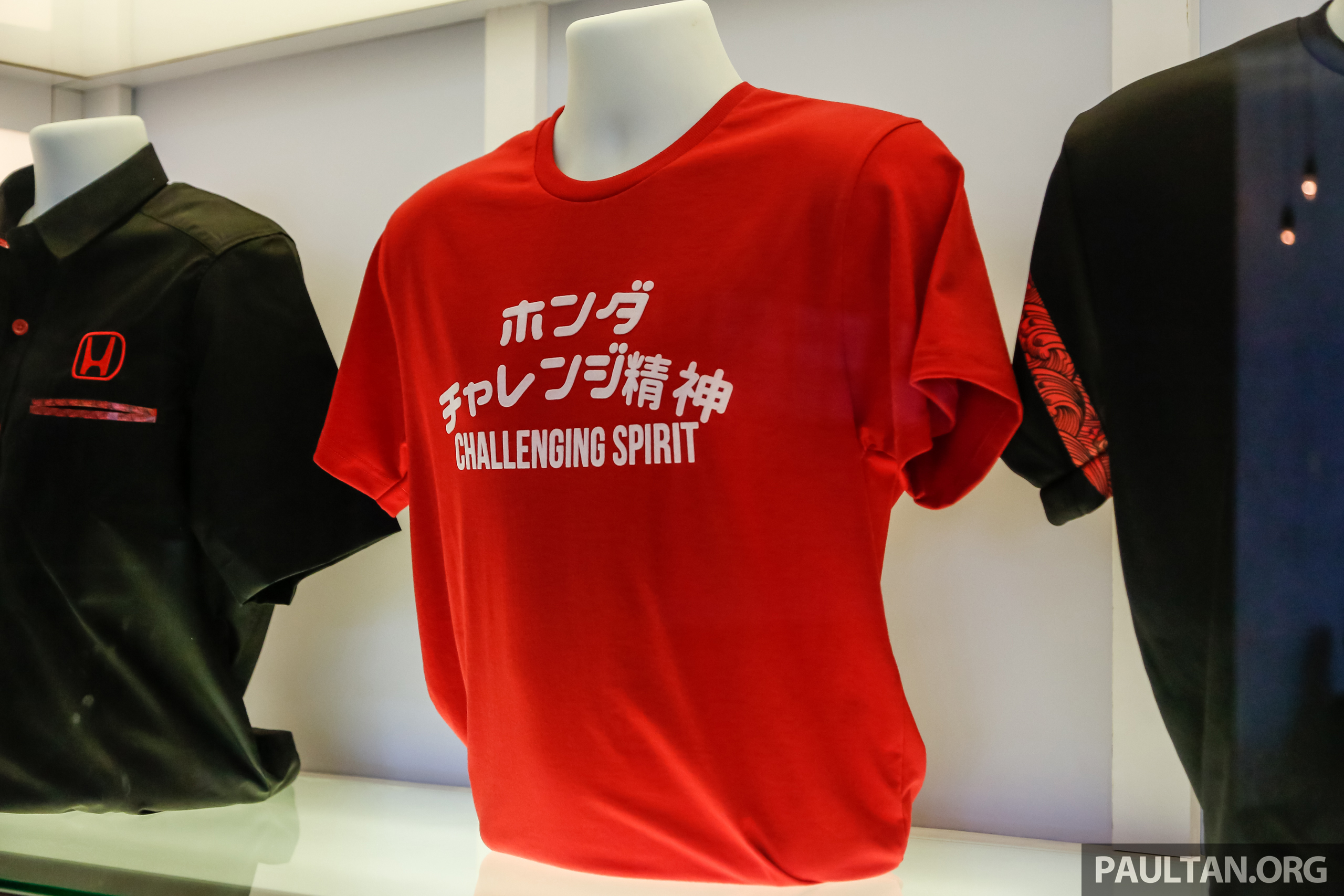 honda malaysia introduces challenging spirit merchandise active wear products  accessories