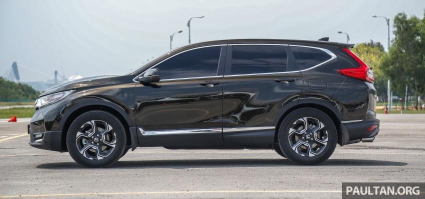 Honda CR-V 2017 dilancar di M'sia – 3 varian 1.5L turbo dan 1 varian 2.0L N/A, harga RM142k-RM168k Image #682033