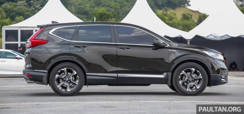 Honda CR-V 2017 dilancar di M'sia – 3 varian 1.5L turbo dan 1 varian 2.0L N/A, harga RM142k-RM168k Image #682035