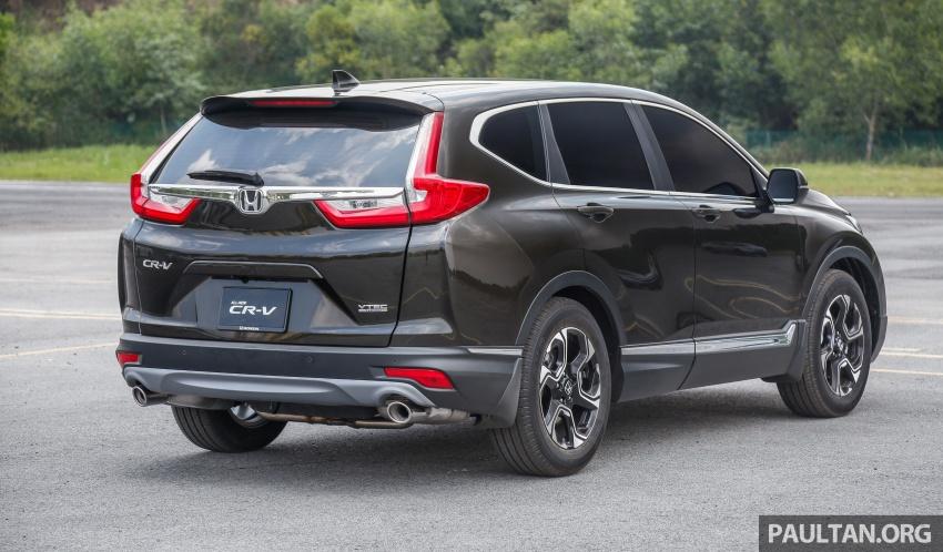 Honda CR-V 2017 dilancar di M'sia – 3 varian 1.5L turbo dan 1 varian 2.0L N/A, harga RM142k-RM168k Image #682025
