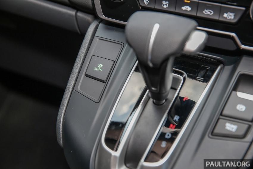 Honda CR-V 2017 dilancar di M'sia – 3 varian 1.5L turbo dan 1 varian 2.0L N/A, harga RM142k-RM168k Image #682059