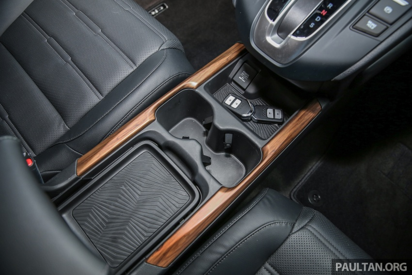 Honda CR-V 2017 dilancar di M'sia – 3 varian 1.5L turbo dan 1 varian 2.0L N/A, harga RM142k-RM168k Image #682060