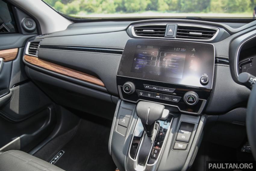 Honda CR-V 2017 dilancar di M'sia – 3 varian 1.5L turbo dan 1 varian 2.0L N/A, harga RM142k-RM168k Image #682054