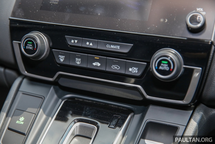 Honda CR-V 2017 dilancar di M'sia – 3 varian 1.5L turbo dan 1 varian 2.0L N/A, harga RM142k-RM168k Image #682056
