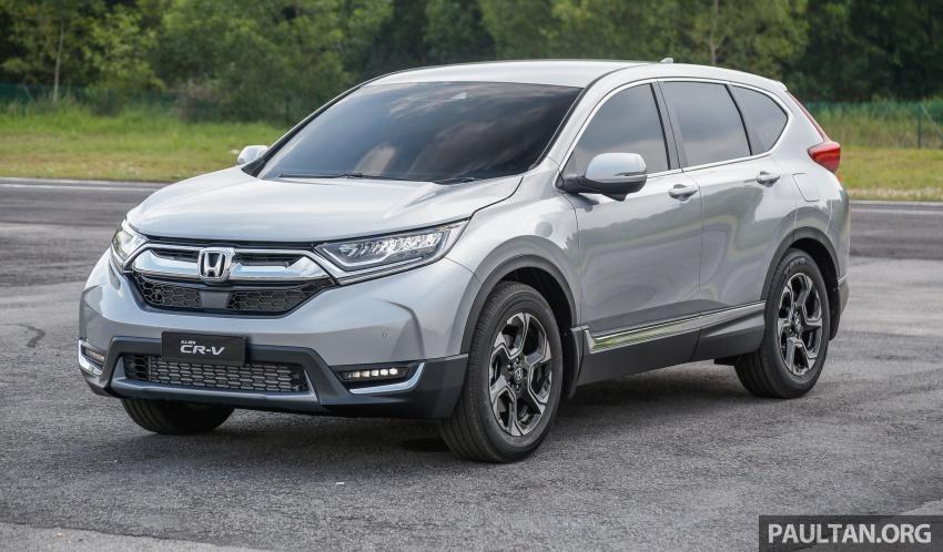 Honda CR-V 2017 dilancar di M'sia – 3 varian 1.5L turbo dan 1 varian 2.0L N/A, harga RM142k-RM168k Image #681950