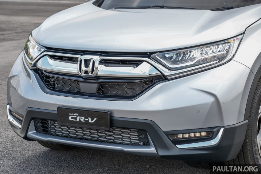 2017 Honda CR-V launched in Malaysia – three 1.5L Turbo, one 2.0L NA, priced from RM142k to RM168k Image #682135
