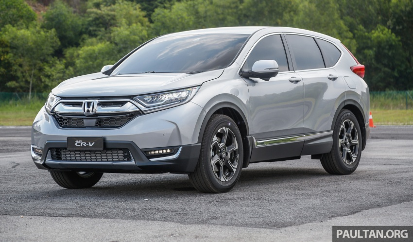 2017 Honda CR-V launched in Malaysia – three 1.5L Turbo, one 2.0L NA, priced from RM142k to RM168k Image #682124