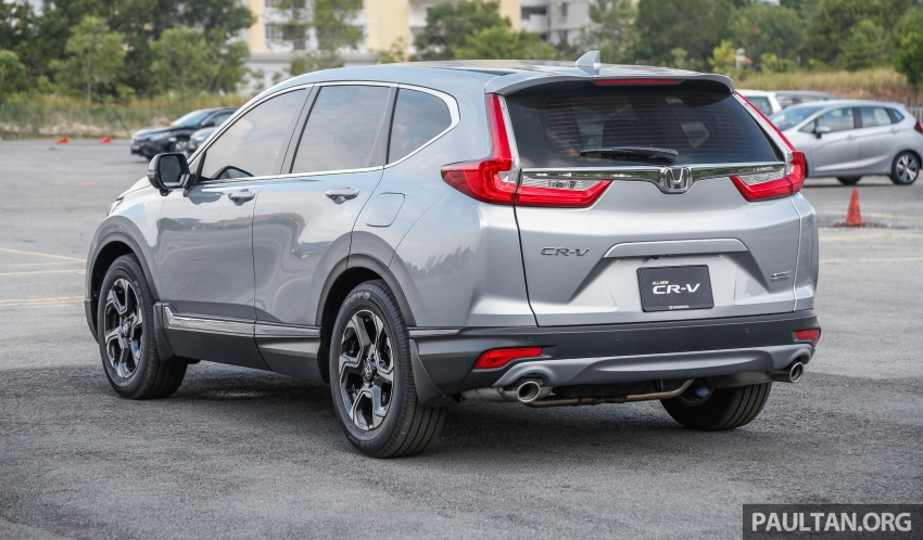 2017 Honda CR-V launched in Malaysia – three 1.5L Turbo, one 2.0L NA, priced from RM142k to RM168k Image #682125