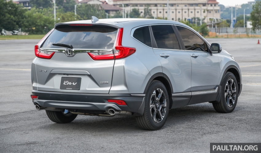 2017 Honda CR-V launched in Malaysia – three 1.5L Turbo, one 2.0L NA, priced from RM142k to RM168k Image #682127
