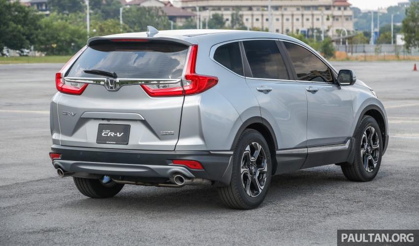 Honda CR-V 2017 dilancar di M'sia – 3 varian 1.5L turbo dan 1 varian 2.0L N/A, harga RM142k-RM168k Image #681955